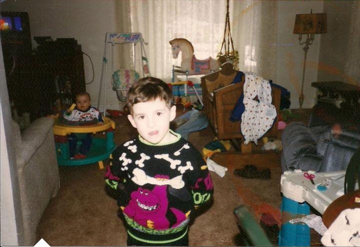 Seamus Kirst as a child.