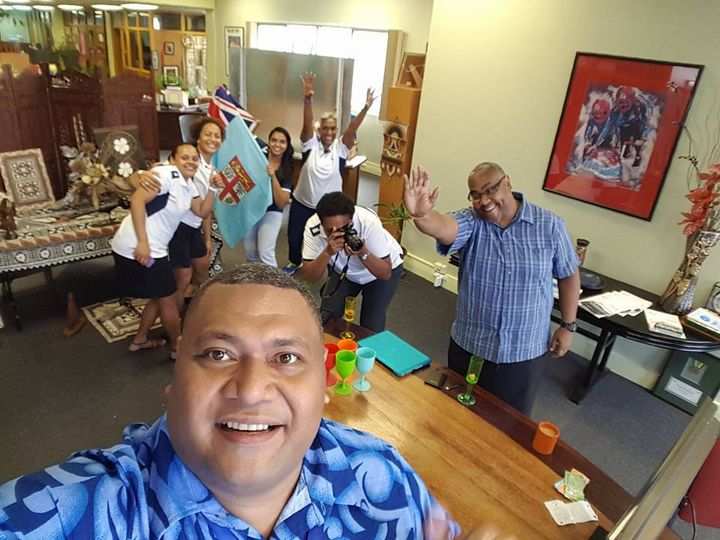 Happiness in a Suva based office