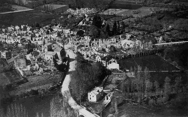 <i>The ruins of Oradour-sur-Glane</i>