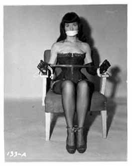 She Was Tied Up Spreader