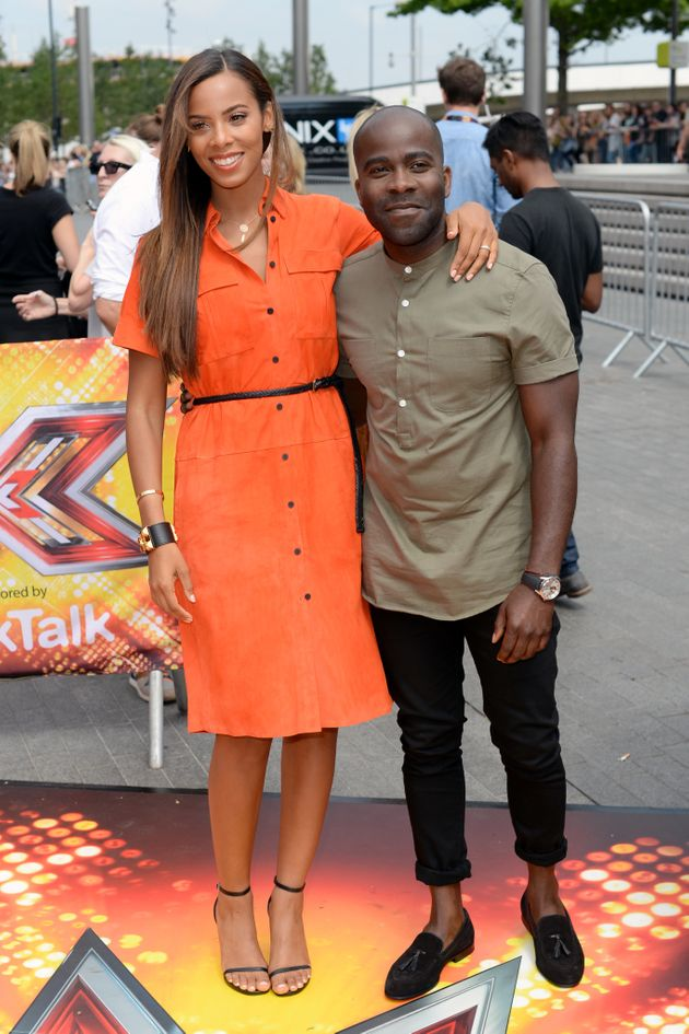 Melvin hosted 'The Xtra Factor' with Rochelle Humes last