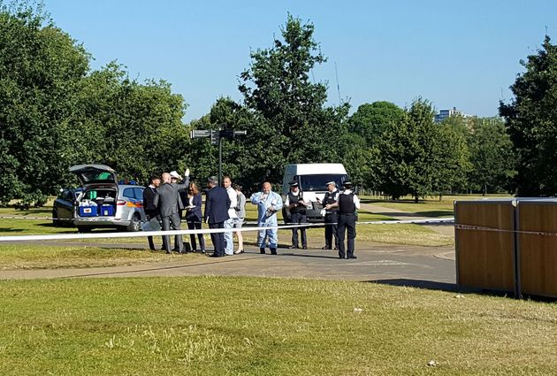 Forensic teams are on