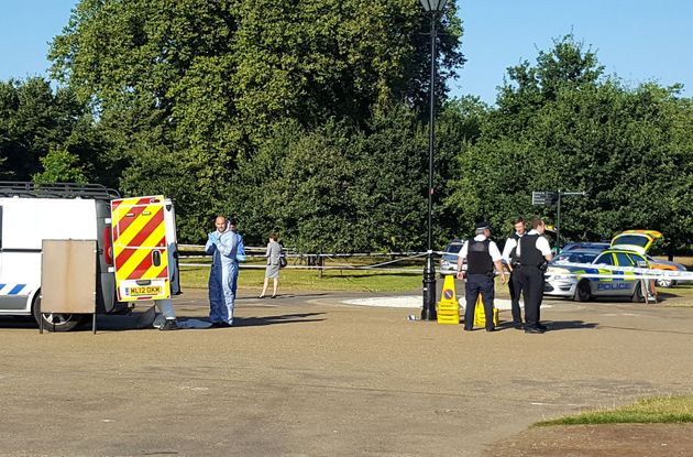 Police were called to Hyde Park shortly before 6am on Friday after a man was found with
