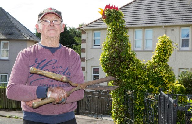 Pensioner's Giant Cock Has Become A Tourist Attraction In
