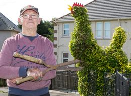 Pensioner's Massive Cock Has Become A Local Tourist Attraction