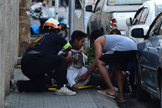 Police said the blasts were not linked to