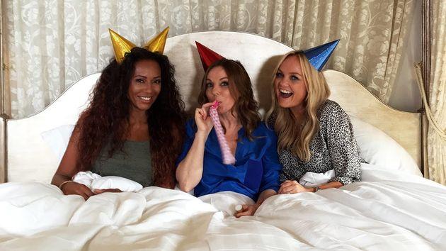 Mel, Geri and Emma never actually confirmedany
