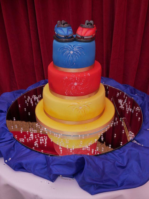 The themed wedding