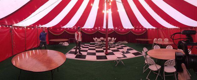 The fairground themed