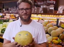 Seth Rogen Pranked Some Shoppers With Hilarious NSFW Talking Food In A Supermarket