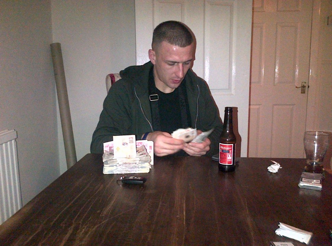 Drug dealer Nigel Barwell took pictures of himself counting stacks of cash, and of his cannabis crops,...