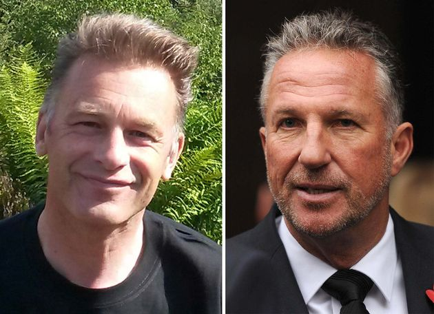 Chris Packham (left) went head-to-head with Ian Botham over the controversial field 'sport'of driven...
