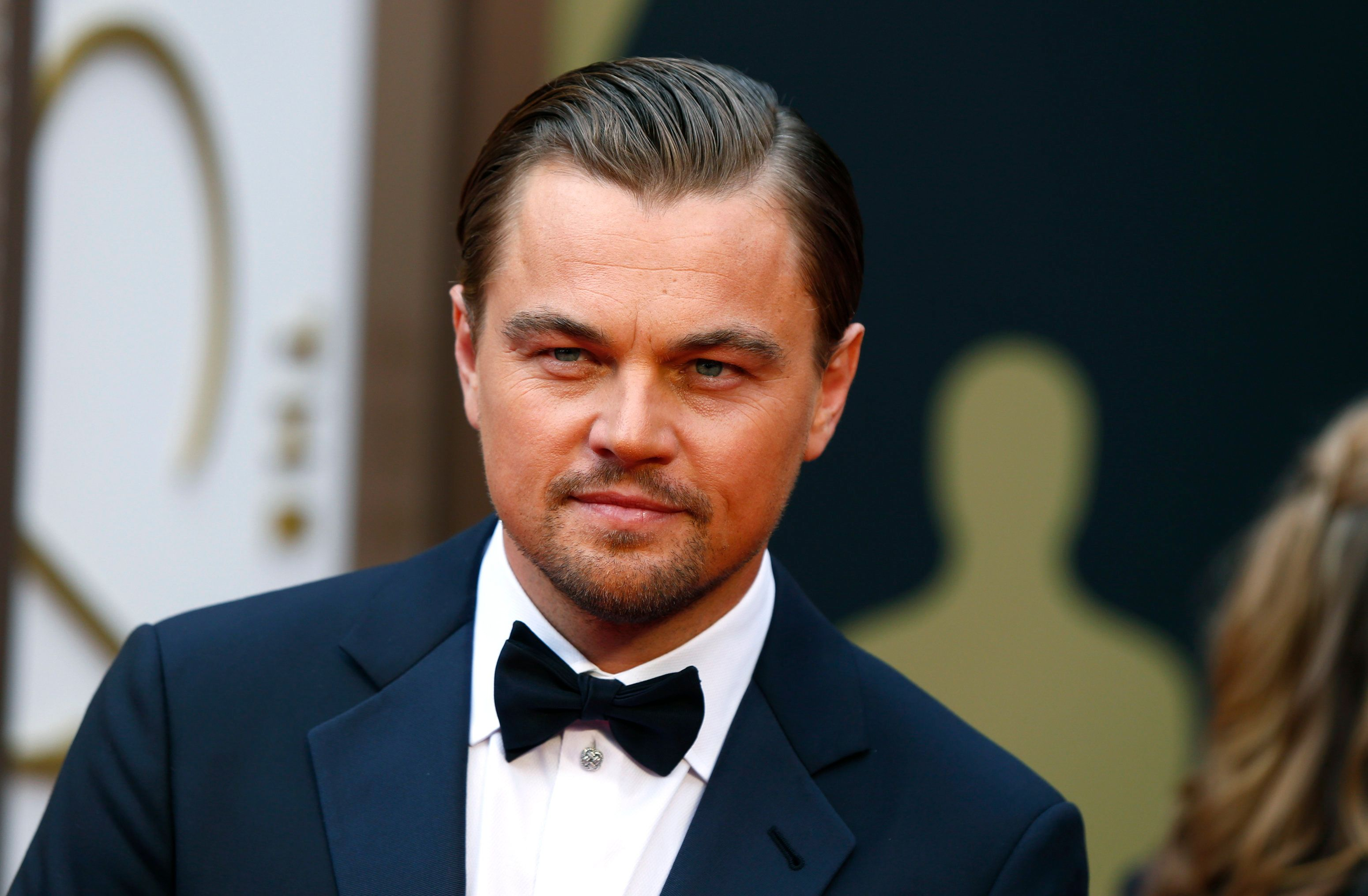 Leonardo DiCaprio at the 86th Academy Awards in Hollywood, California, in 2014.