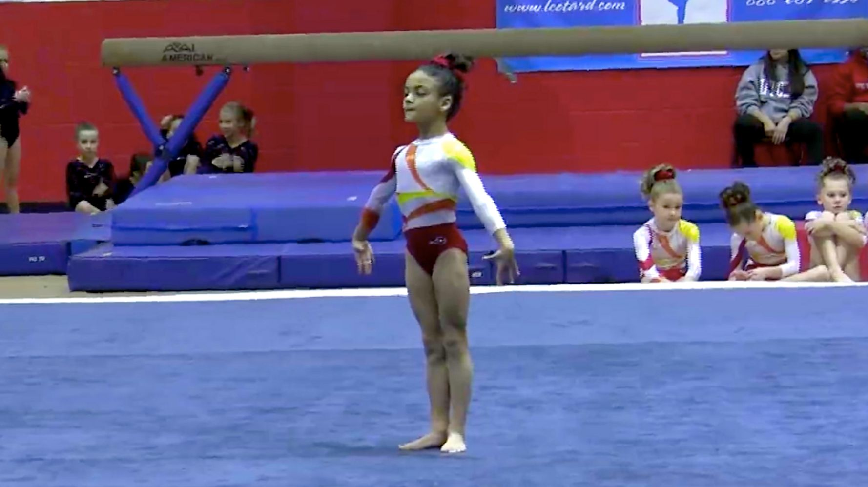 Young Latina Gymnast Laurie Hernandez Earns Spot On U.S