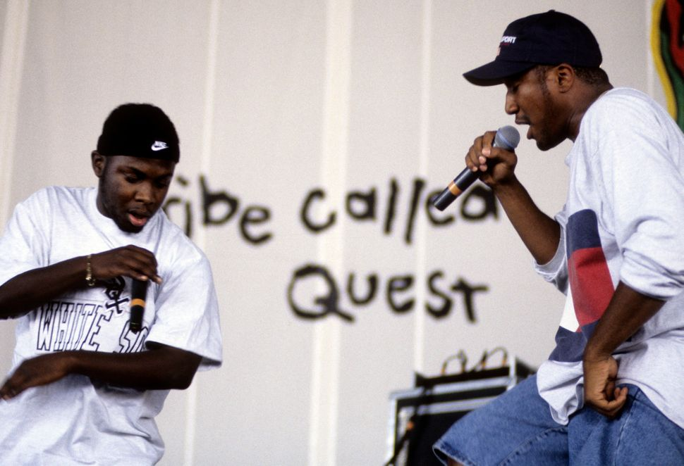 A Tribe Called Quest's Q-Tip at performs at Lollapalooza, Chicago, Illinois, July 15, 1994.