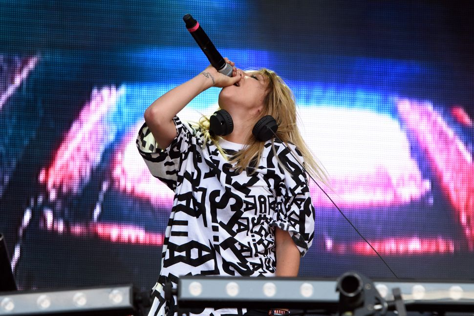 Alison Wonderland performs onstage during Lollapalooza 2015 at Grant Park on Aug. 2, 2015, in Chicago, United States.