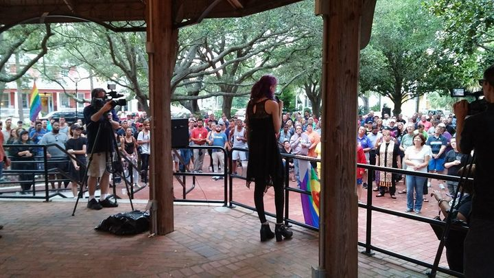 Pensacola gathers to mourn the Pulse Tragedy