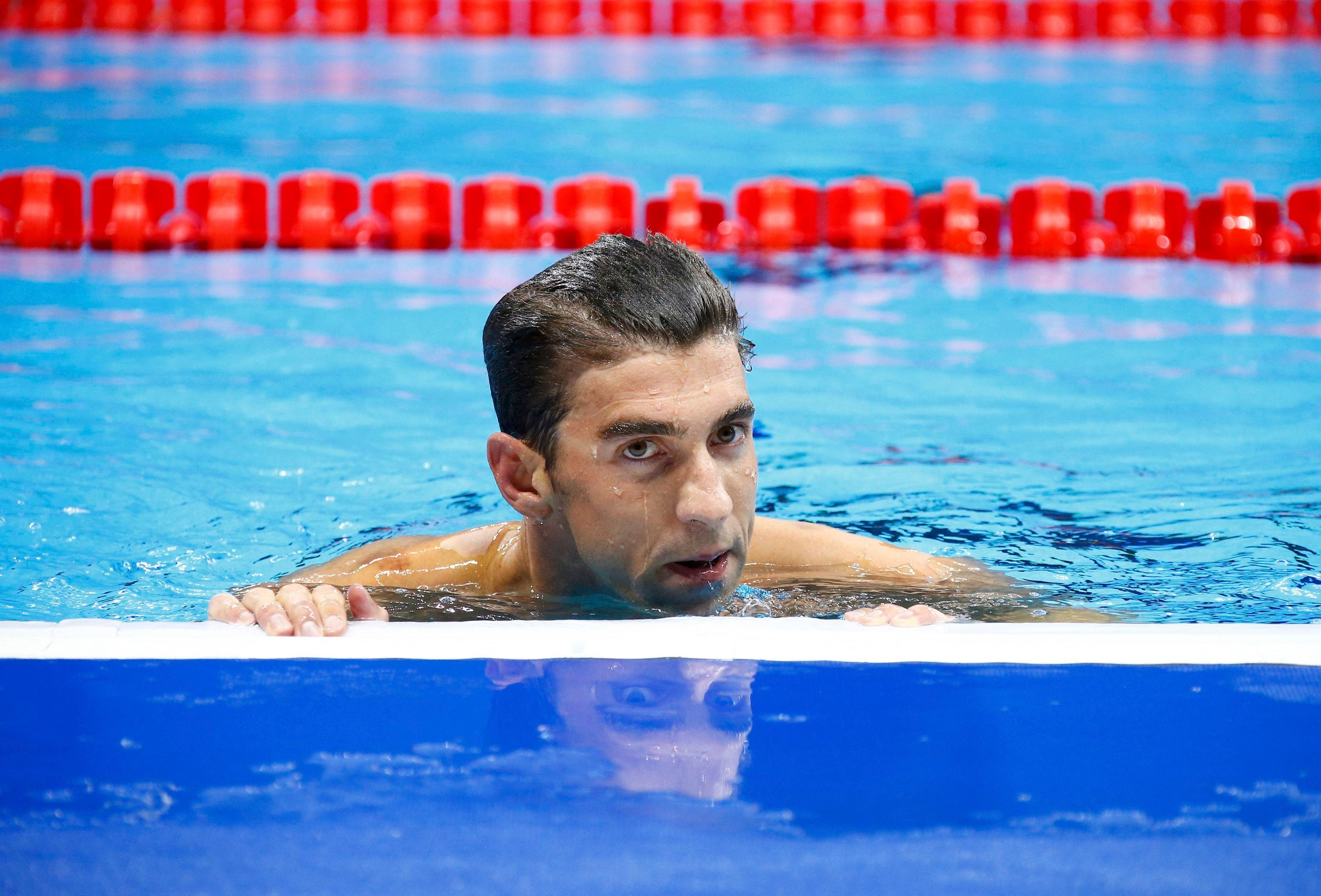 Olympic star Michael Phelps says he's ready to quit