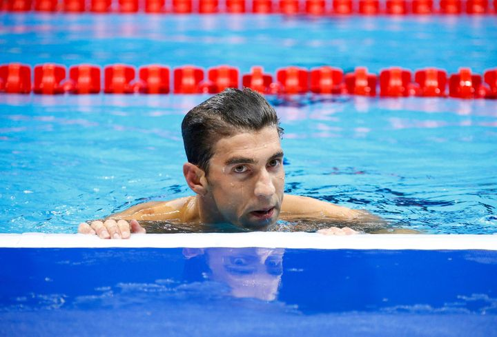 Olympic star Michael Phelps says he's ready to quit swimming.