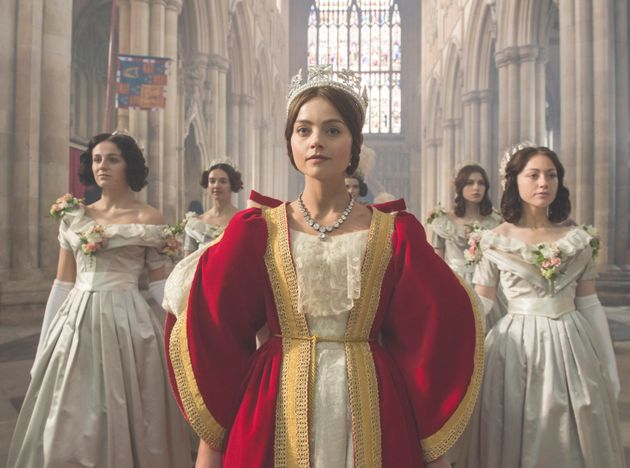 Jenna Coleman as the young