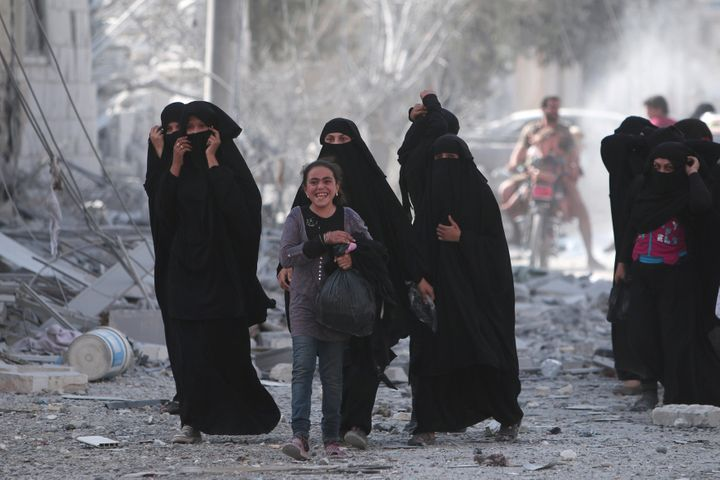 Syria Democratic Forces, backed by the U.S., announced Friday they have claimed control of Syria's Manbij from the so-called Islamic State. More than 2,000 hostages were freed.