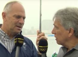 It Looks Like Things Are Getting A Bit Tense Between John Inverdale And Steve Redgrave