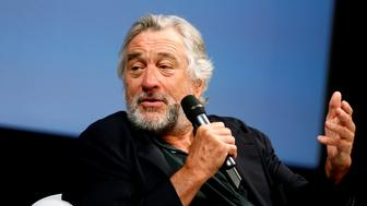 "Actor Robert De Niro talks to reporters and film professionals during ""Coffee with..."" event during the 22nd Sarajevo Film Festival in Sarajevo, Bosnia and Herzegovina, August 13, 2016. REUTERS/Dado Ruvic"