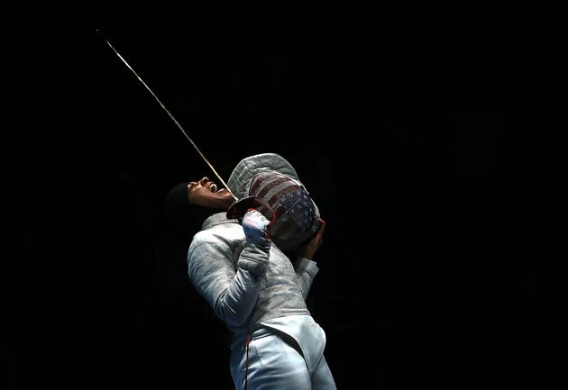 Rio 2016: Fencer Muhammad becomes first American medalist to compete in hijab