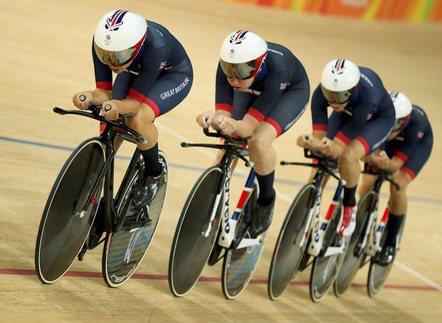 Britain Wins Women's Team Pursuit At Rio Olympics