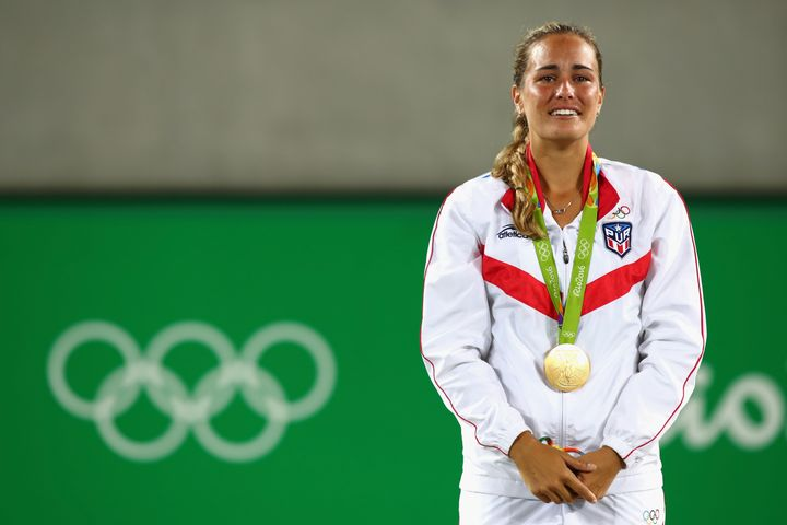 Monica Puig won Puerto Rico's first-ever Olympic gold medal Saturday.