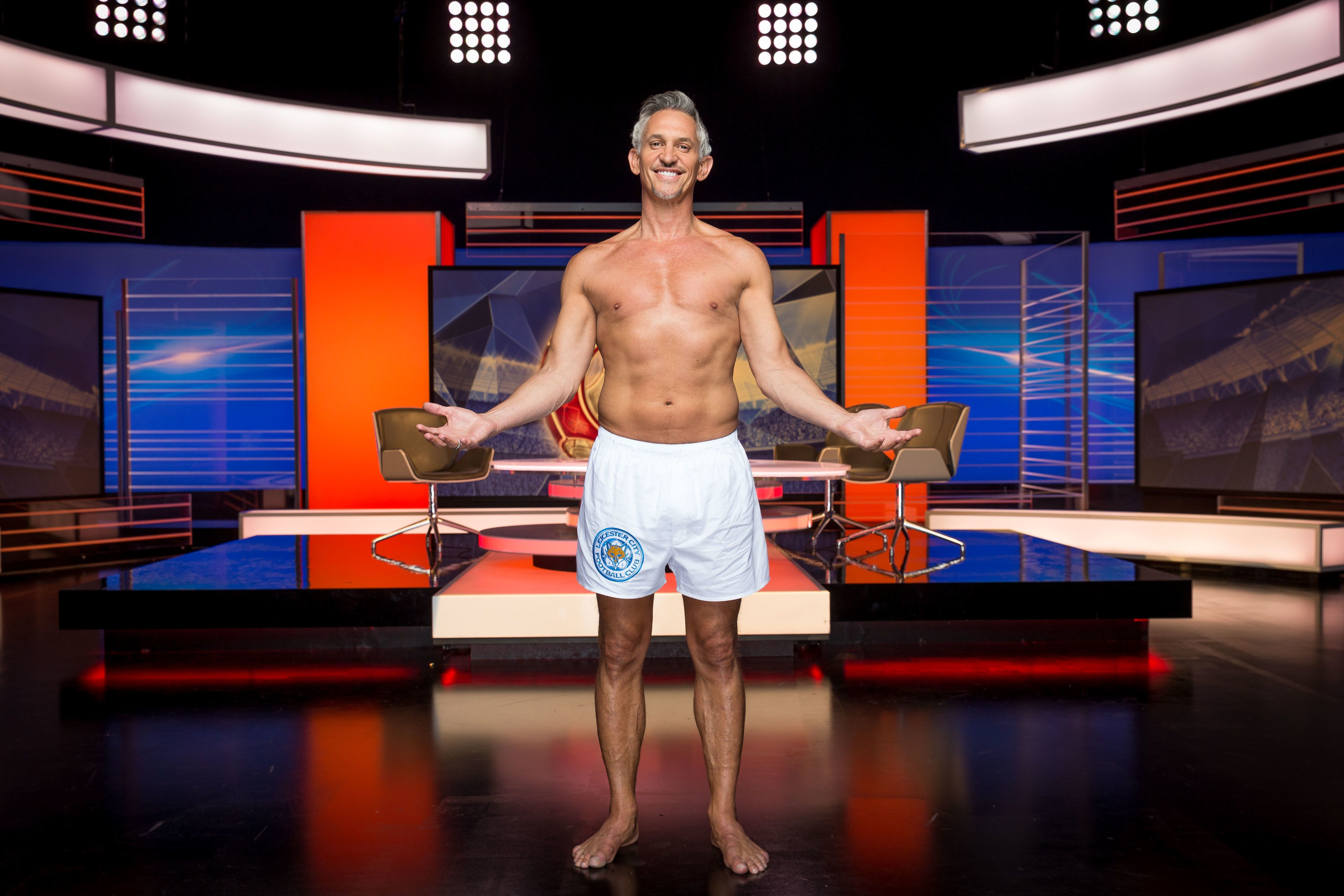He Did It! Watch Gary Lineker Present 'Match Of The Day' In His