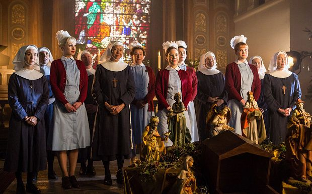 Image result for call the midwife christmas