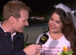 This Hen Party Just Brilliantly Stormed The BBC's Olympics Coverage - And Stole The Show