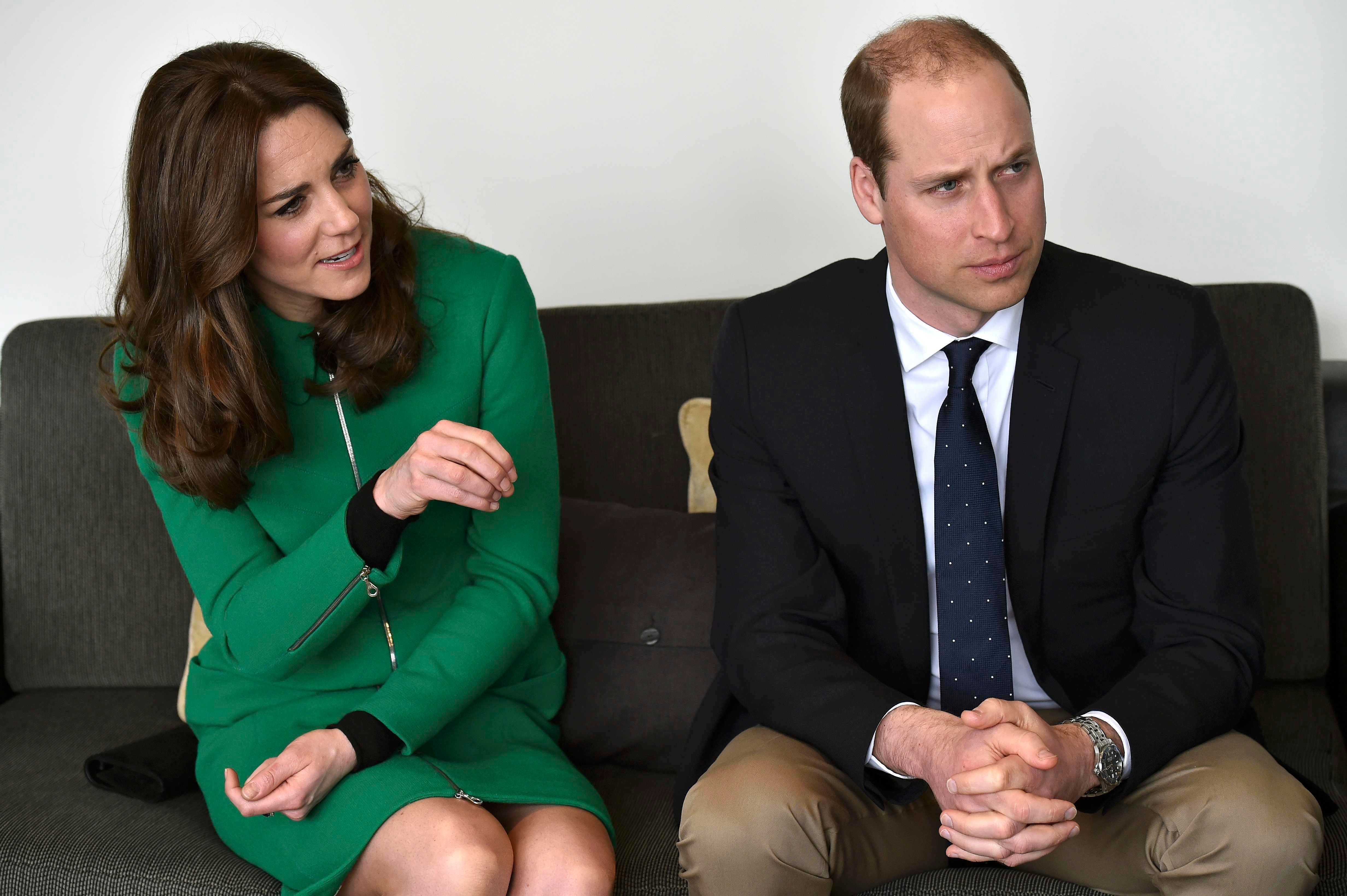 The Duke and Duchess of Cambridge have spoken out about the importance of young people's mental