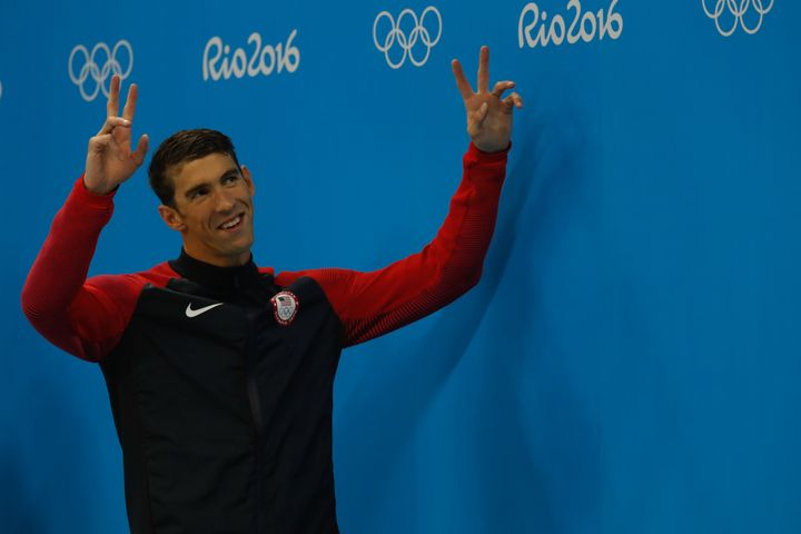 Phelps finally ready to peace out.