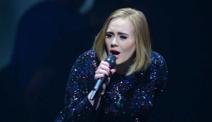 Adele performs during her Adele Live 2016 tour at the Pepsi Center on July 16 in Denver, Colorado.