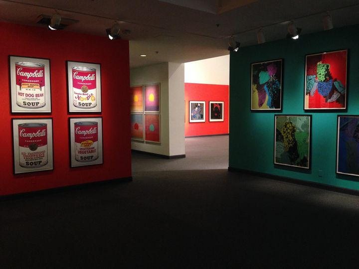 <i>Andy Warhol: Life and Legends </i>(Installation View)