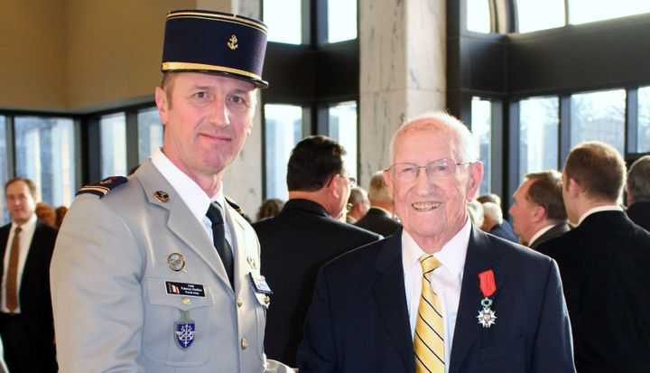 <i>Clem Dowler receives the French Legion of Honor at the French Embassy in Washington, DC</i>
