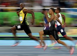 Usain Bolt Smiles For Camera As He Runs 100m Under 10 Seconds