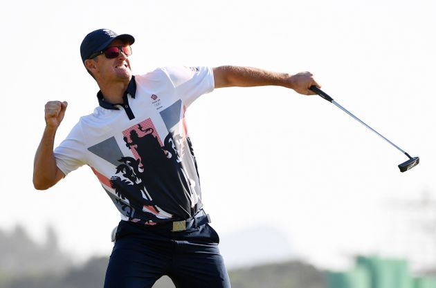 Justin Rose won GB's first gold in gold in more than a