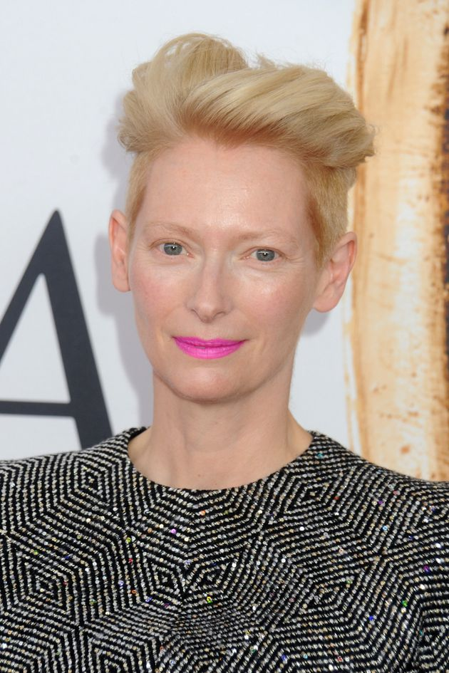 Tilda as we're more used to seeing