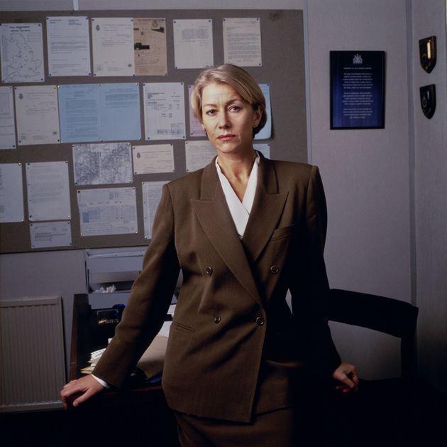 Helen Mirren as Jane Tennison in 'Prime