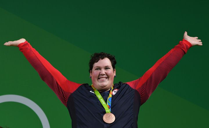 Robles' bronze is just the third U.S. women's weightlifting medal in Olympic history.