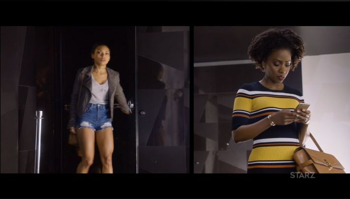 """Actress Teyonah Parris and Logan Browning face off in Starz's Survivor's Remorse Episode 305 """"The Photoshoot"""""""