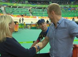 Mark Cavendish Bursts Into Live BBC Interview To Ask For Chris Hoy's Interview
