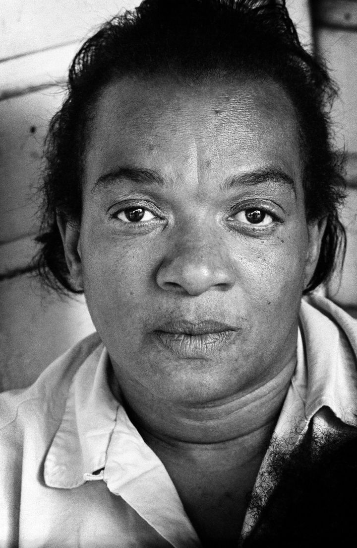 Fannie Lee Chaney, mother of murdered civil rights worker James Chaney. (Jim Marshall, 1964.)