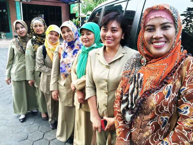 These midwives in Wonosari, in central Indonesia, are the local eyes and ears on the ground. They keep...
