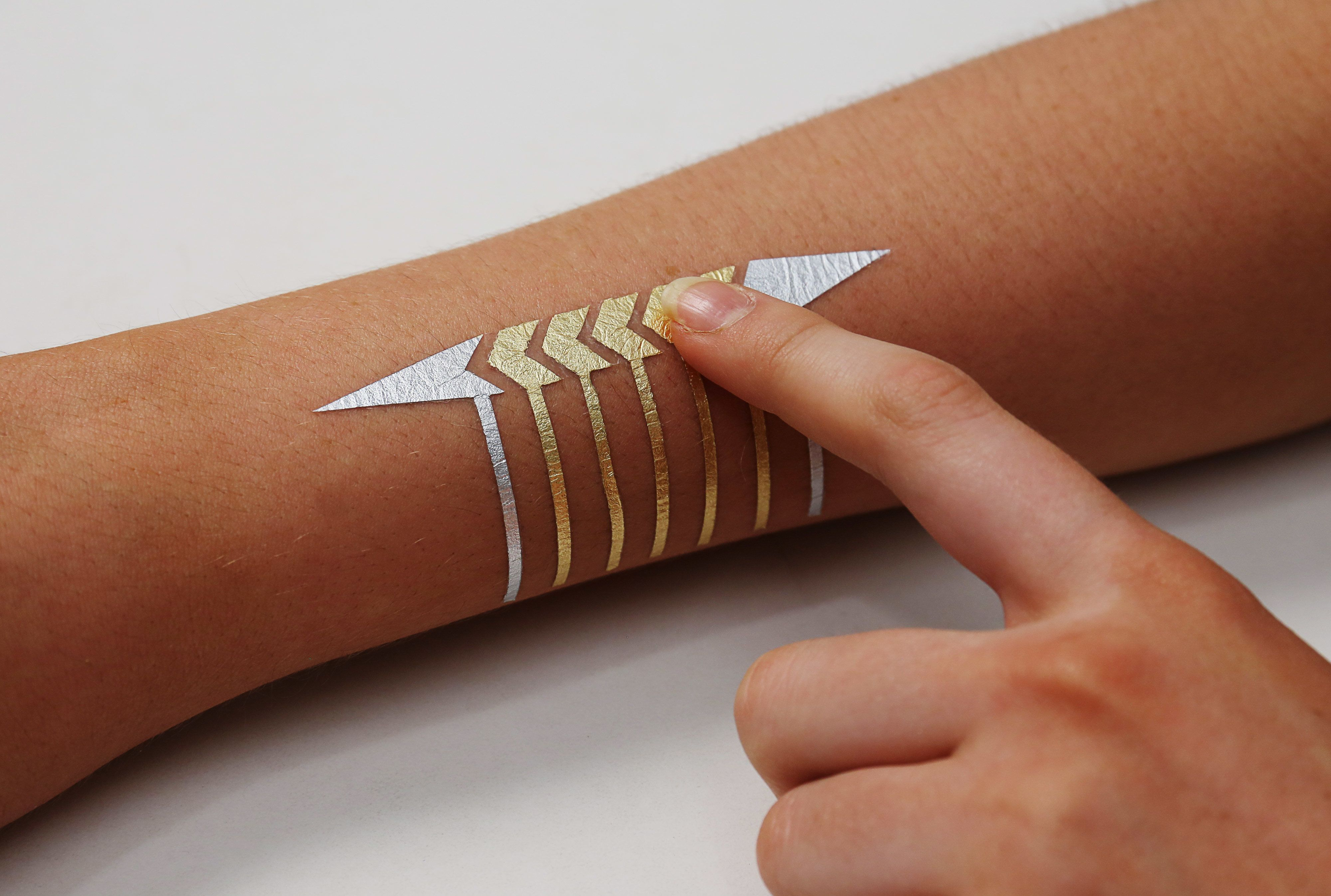 MIT's Temporary Tattoos Are The Wearable Gadgets Of The