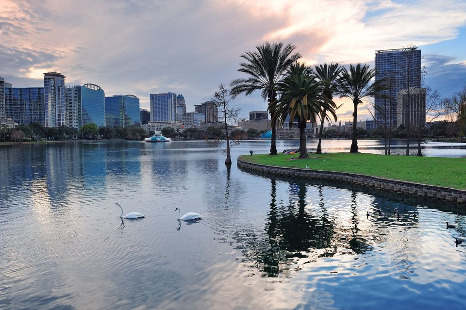 Orlando ranked sixth overall for recreational activities for retirees -- though we could argue it ranks No. 1 for the grandki