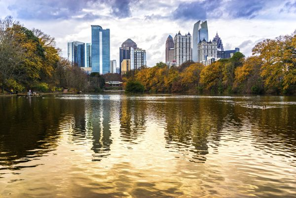Atlanta ranked third overall for it's recreational offerings for retirees.